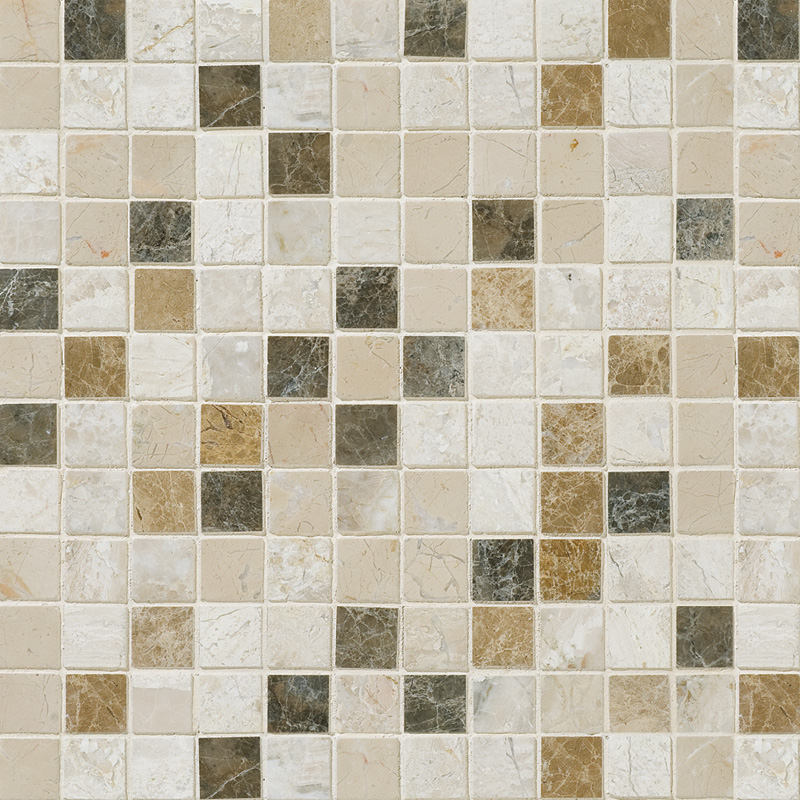 Milano Blend Polished 1st Quality 30,5x30,5 1x1 Mermer Mozaik