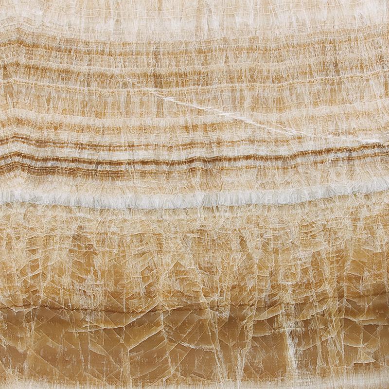 Golden Brown Onyx Polished Random 2 Cm Onyx Plaka Sl01162s