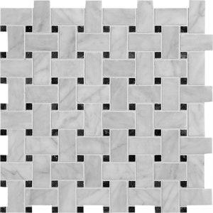 Avenza Honed 30,5X30,5 Basket Weave Mozaik