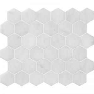 Glacier Honed 26,5X31 Hexagon Mozaik