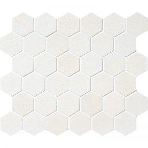 Champagne Honed 26,5X31 Hexagon Mozaik