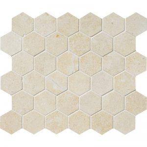 Casablanca Honed 26,5X31 Hexagon Mozaik