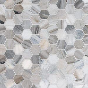 Skyline Honed 26,5X31 Hexagon Mozaik