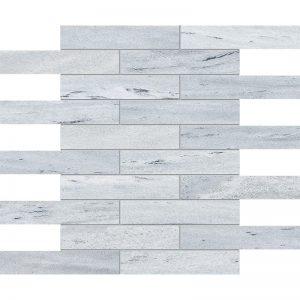 Neptune White Honed 30,5X30,5 3X15,2 Mozaik