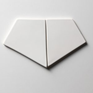 Royal White Glossy Diamante Seramik Fayans 15,5x17,5